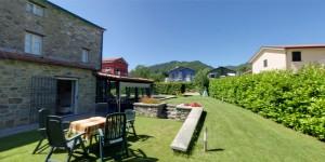 visita virtuale giardino b&b a Brugnato (La Spezia)