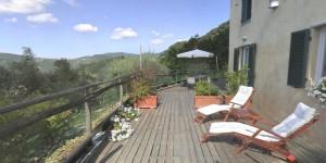 visita virtuale terrazza b&b a Paggi (Genova)
